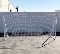 New $50 each Large 12' x 6' Soccer Goal Football with Net Frame Anchor Ball Training South El Monte