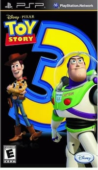 PSP Toy Story 3 Game - Delivery  Toronto, M1B