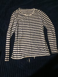 white and black striped long-sleeved shirt Lafayette, 47904