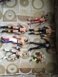 Wrestlers action figures Calgary, T2A 6R8