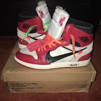Off-White(Chicago)Retro Air Jordan 1's  Potomac, 20854