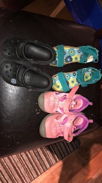 Toddler's four pairs of shoes Greater Sudbury / Grand Sudbury