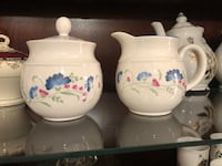 Vintage Royal Doulton creamer and sugar now, brand new condition.$5 for 2  Hamilton, L9A 1T3
