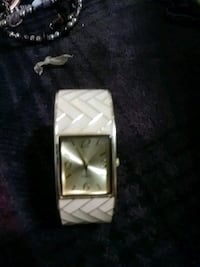 square silver-colored analog watch with link bracelet Douglasville, 30135