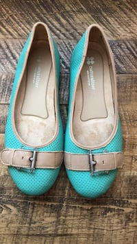 Naturalizer Green Leather Flats Toronto, M1C 2G3