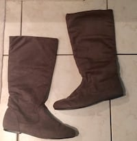 Grey boots (suede) 786 km