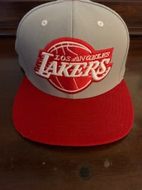 Lakers gray and red cap like new Brawley, 92227