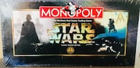 Parker Brothers STAR WARS MONOPOLY *CLASSIC TRILOGY EDITION* *MIB*  Mfg.1997 Corona, 92880