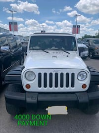 2017 - Jeep - Wrangler with 4000 of down paym Houston