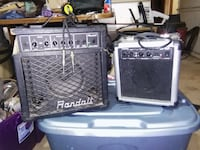 Guitar amps Must go by Friday (tomorrow)