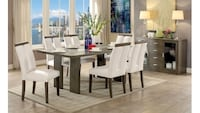 brown wooden dining table set Redwood City, 94063