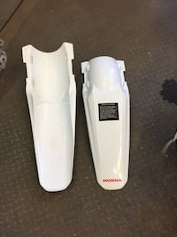 Crf250 2009. Rear fenders  $50 each.