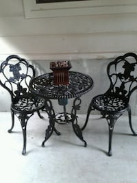 3 PIECE SET BLACK   $225.00   (heavy set)  Surrey