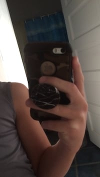 Gold iphone 5 with camo case Smithtown, 11787
