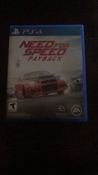 Need for Speed Rivals PS4 game case Lexington, 40505
