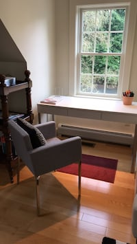 CB2 writing desk with chair, brand new, never use it Falmouth, 04105