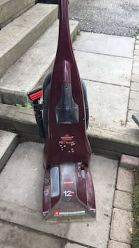 black and purple Bissell upright vacuum cleaner Barrie