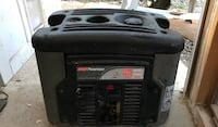 black and gray portable generator North Little Rock, 72118