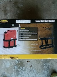 red and black Jerry Gas Can holder box Orchard Park, 14127