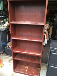 Cherry bookcase or file cabinet either one  $100 text to  [TL_HIDDEN]