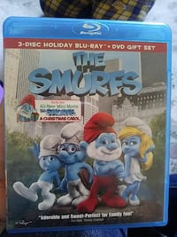 The smurfs blu ray and dvd movie