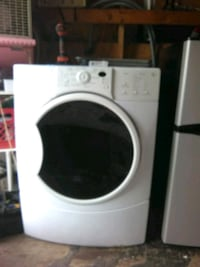 white front-load clothes washer Akron, 44301