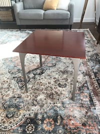 Dark Wood End Table 43 km