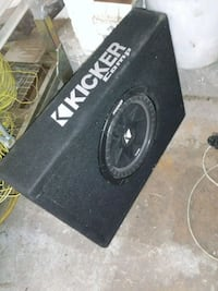 black Kicker subwoofer with enclosure El Paso, 79924
