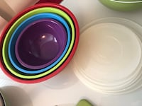 red, white, and green ceramic plates Ajax, L1T 2V3