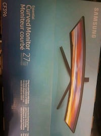 "Curved monitor Samsung 27"" Calgary"