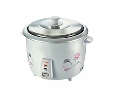 silver rice cooker