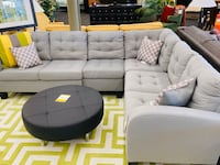 Grey L Shaped Sectional NEW  Norfolk, 23502