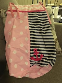 Anchor themed diaper holder