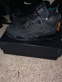 Black cat Retro Jordan 4