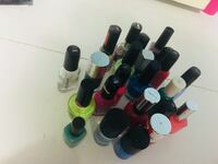 Assorted color nail polish bottles Barrie, L4M 6C7