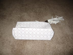 White Cosmetic Bag