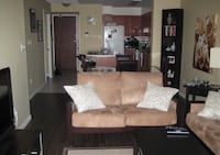 Microsuede loveseat and couch for sale $100 or best offer Toronto, M2R 2X1