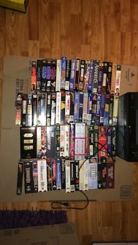 vhs deck and lots of movies much cheaper than going to the movies Bel Air, 21014