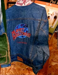rare Las Vegas planet Hollywood Jean jacket large  Calgary, T2A 4P6