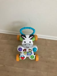 White and blue fisher-price learning walker Virginia Beach, 23454