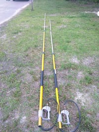 23 ft and 16 pressure washing extension poles  Myrtle Beach, 29579