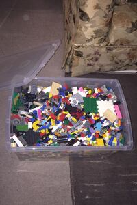 Whole container of Lego