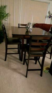 brown wooden dining table set Silver Spring, 20906