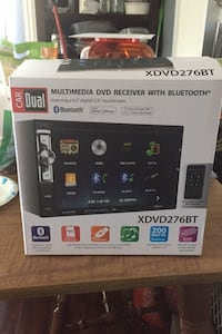 XDVD276BT LCD Car Radio with Touch Screen and Bluetooth *New*