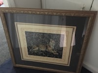 Leopard picture very big and solid 39 w x 35 inches high or best offer