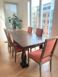 Wood Dining Table and Chairs  Washington, 20001