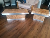 Amazingly Unique Coffee Table and end table, sale ends tonight! Calgary, T2J 6J9