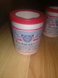 3 vintage Budweiser beer can  coozies