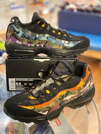 Black ERDL party Air max 95s size 9.5 Silver Spring, 20902