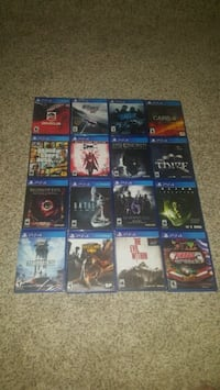16 PS4 GAMES w/ CASES LOT SOME NEW  Chino, 91710